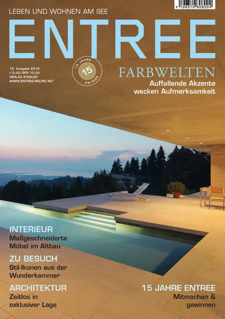 Wohnen Und Leben Zeitschrift entree leben wohnen am see 15 ausgabe 2018 issn 16 12 9326